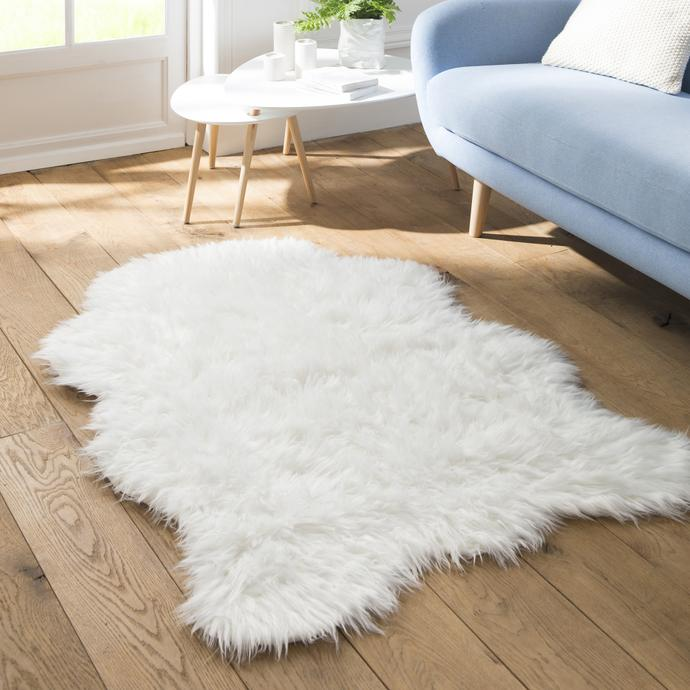 HEQUN Peau de mouton synthétique,Cozy Sensation co...