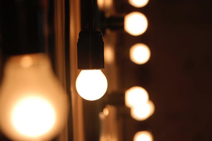 B.K. Licht plafonnier LED 4 spots pivotants & orie...