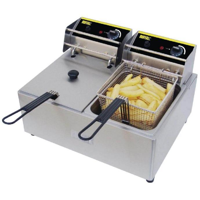 Bestron Friteuse Zone froide, Pour 1 kg de frites,...